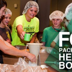 Food packaged at YEC  headed to Botswana