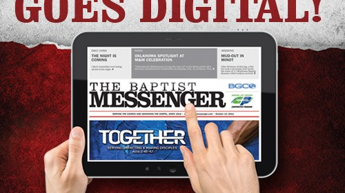 The Messenger goes digital