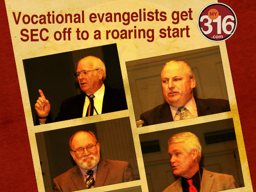 Vocational evangelists get SEC off to a roaring start