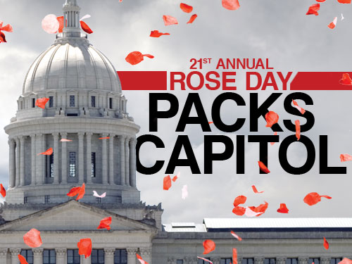 21st annual Rose Day packs capitol