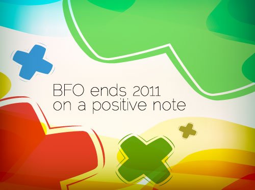 BFO ends 2011 on positive note