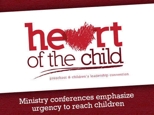 Ministry conferences emphasize urgency to reach children