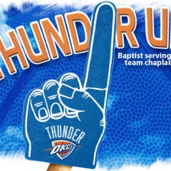 Thunder Up: Baptist serving as team chaplain