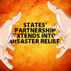 States' partnership extends into disaster relief