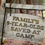 Family's 9-year-olds saved at camp