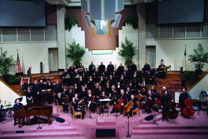 The Oklahoma Baptist Symphony, shown at a concert in 2012, celebrates its 20th anniversary May 4.