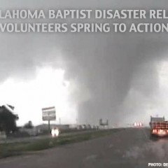 Oklahoma Baptist Disaster Relief Volunteers Spring to Action