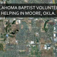 Oklahoma Baptist volunteers helping in Moore, Okla.