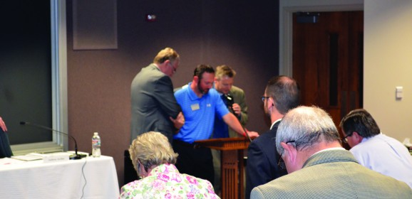 Freeman opens BGCO Board meeting on emotional note