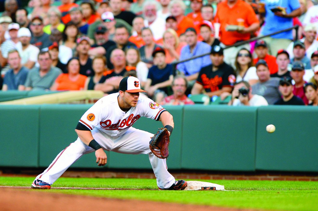 Chris Davis has established himself as one of baseball's best first basemen.