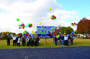 Those attending the Tulsa Metro Baptist Network's (TMBN) 82nd Annual Meeting at Tulsa, Memorial Oct. 31 released helium-filled balloons at the future site of the network's offices near the church adjacent to the Broken Arrow Expressway.
