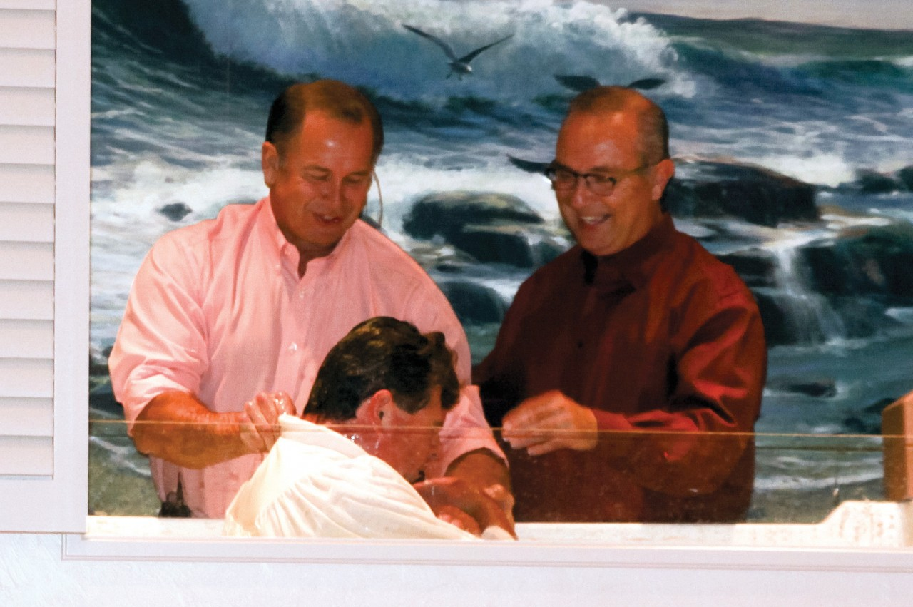 Joint churches baptism 1