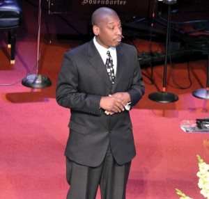 K.J. Jackson, pastor of Tulsa, New Beginnings.