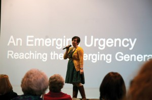"Rachel Forrest presents ""An Emerging Urgency"" on the desperate need to reach the Emerging Generation."
