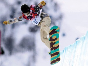 U.S. Olympic snowboarder Kelly Clark won the bronze medal in the women's halfpipe competition in the Sochi 2014 Winter Olympic Games (Photo: David G. Mcintyre)