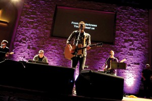 The Cody Dunbar Band led Marlow, First's D-Up worship services.