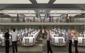 An inside concept of the Methena Event Center.