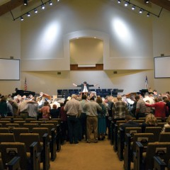 Hinton, First dedicates worship center