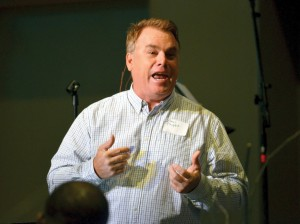Paul Phipps, pastor of Sent Life Church in Port Saint Lucie, Fla., was the keynote speaker.