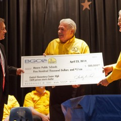 Oklahoma Baptists give $500k to Moore Public Schools for 1,600-person storm shelter at Central Elementary/Junior High