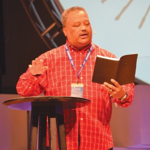SBC President Fred Luter was the keynote speaker at Rewired.