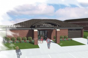 The Mathena Center will be a cutting-edge athletic training facility inside the Eddie Hurt Athletic Complex.
