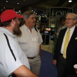 Cody Deever, Joe Ligon and Karl Thionnett visit at the SBC Meeting