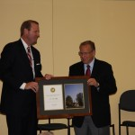 Tom Elliff receives award from Midwestern by Jason K. Allen, president