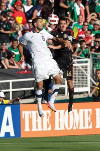 photos: Photo Works / Shutterstock.com Clint Dempsey is the captain of the USA soccer team. USA will be playing in the 2014 World Cup in Brazil, which begins June 12 and continues through July 13. USA begins World Cup competition facing Ghana on June 16.