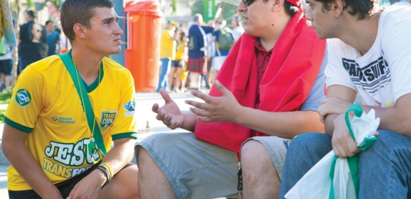 Students share Christ's love in Brazil amid World Cup frenzy
