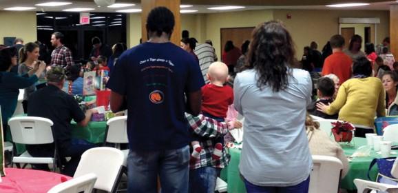 Ada, Trinity hosts 300 at foster family dinner