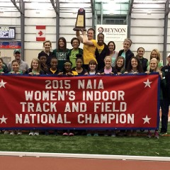 OBU claims NAIA titles in track, swimming & diving
