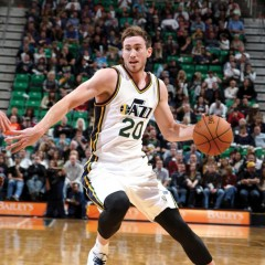 Utah Jazz's Hayward plays for 'glory of God'