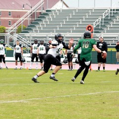 Green trims White in OBU spring football game