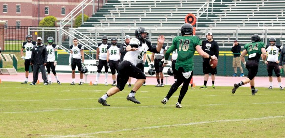 Green trims White in OBU spring football game