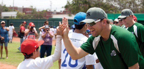 Former major leaguers share Christ in Peru