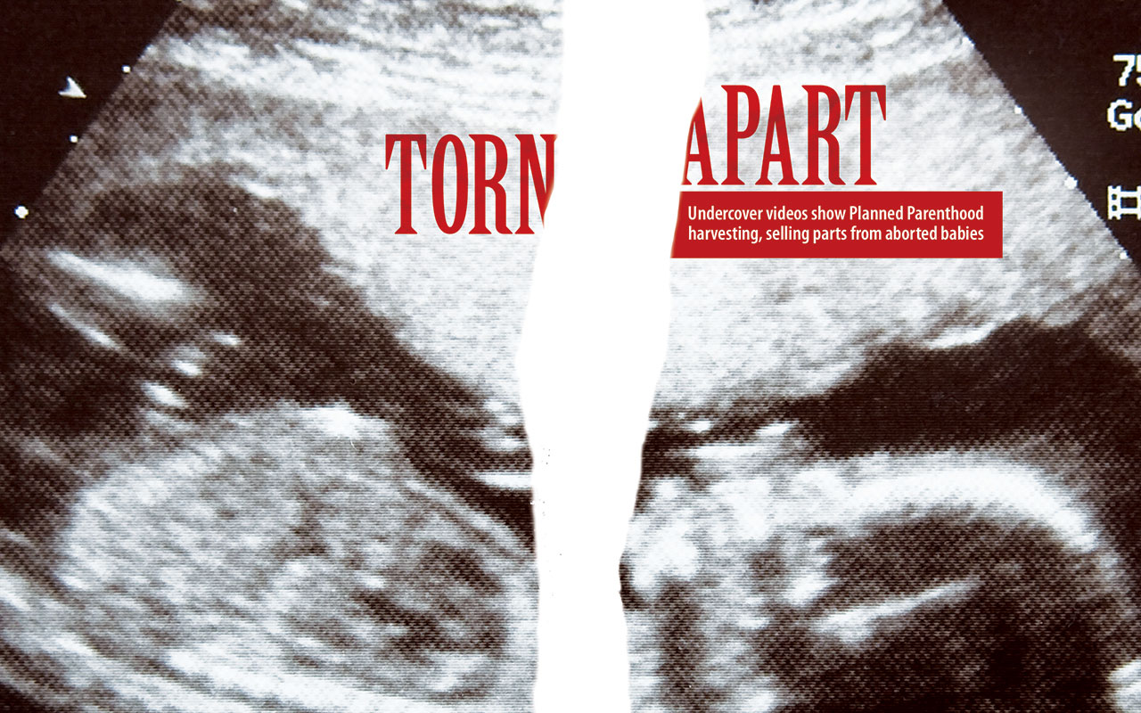 Torn Apart: Undercover videos show Planned Parenthood ...
