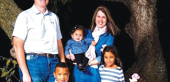 Interracial adoption opens doors