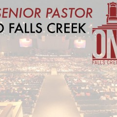 The senior pastor and Falls Creek