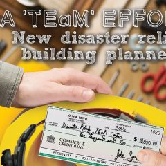 A 'TEaM' effort: New disaster relief building planned