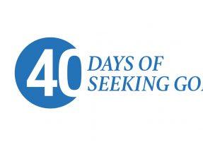 40 days of seeking God, Sept. 25-Nov.6