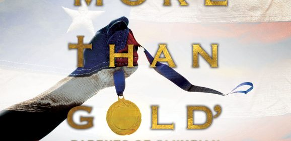 'More than gold' Parents of Olympian pray for, cheer on daughter