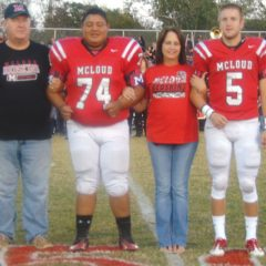 McLoud family fosters football player