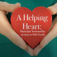 A helping heart: 'Nurse Jan' honored for 35 years at Falls Creek