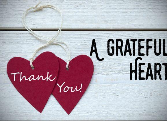 Rite of passage: A grateful heart