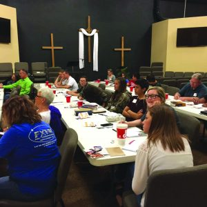 The group at Oklahoma City, Faith Crossing. Photo: Submitted