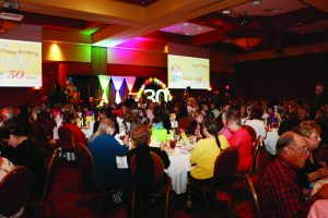 The next regional 30th anniversary banquet takes place Oct. 27 in Tulsa. Photo: Lauren Capraro