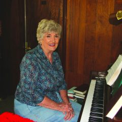 Burns Flat pianist is missionary to local store customers, employees