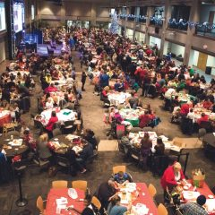 Moore community gathers for Gingerbread Night