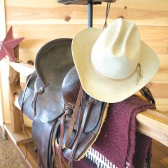 A cowboy gathering place